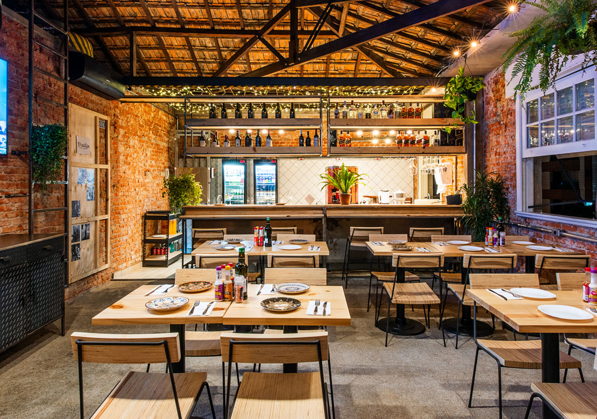 Restaurante Khadije - Projeto Fabio Marins
